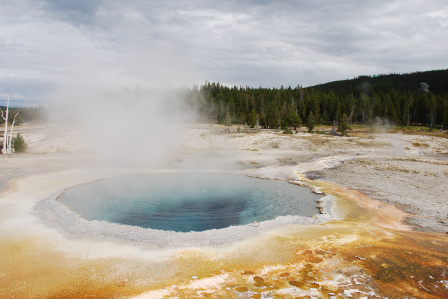 Yellowstone Nationalpark by Heike Quosdorf
